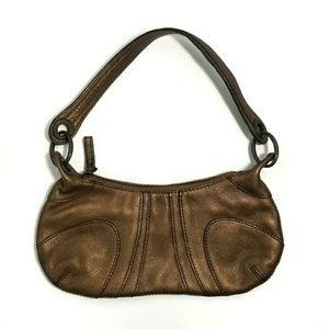 Banana Republic Small Pebbles Leather Shoulder Bag